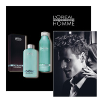 L'OREAL PROFESSIONNEL HOMME - ENERGIC